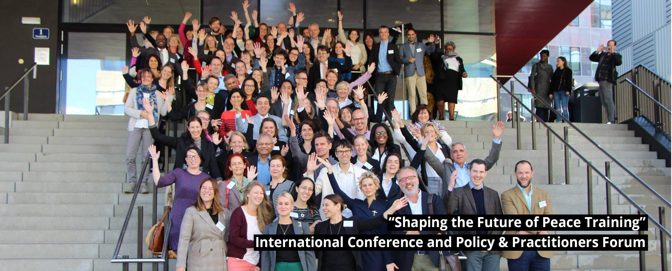"slide-2 ""Shaping the Future of Peace Training"" International Conference and Policy & Practitioners Forum – Vienna, October 1th & 2nd 2018"