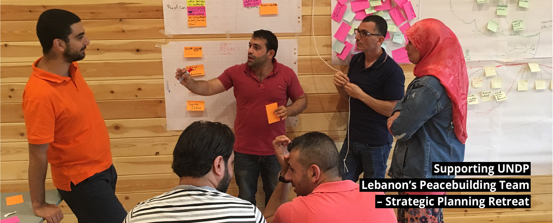 slide-3 Supporting UNDP Lebanon's Peacebuilding Team – Strategic Planning Retreat September 2017