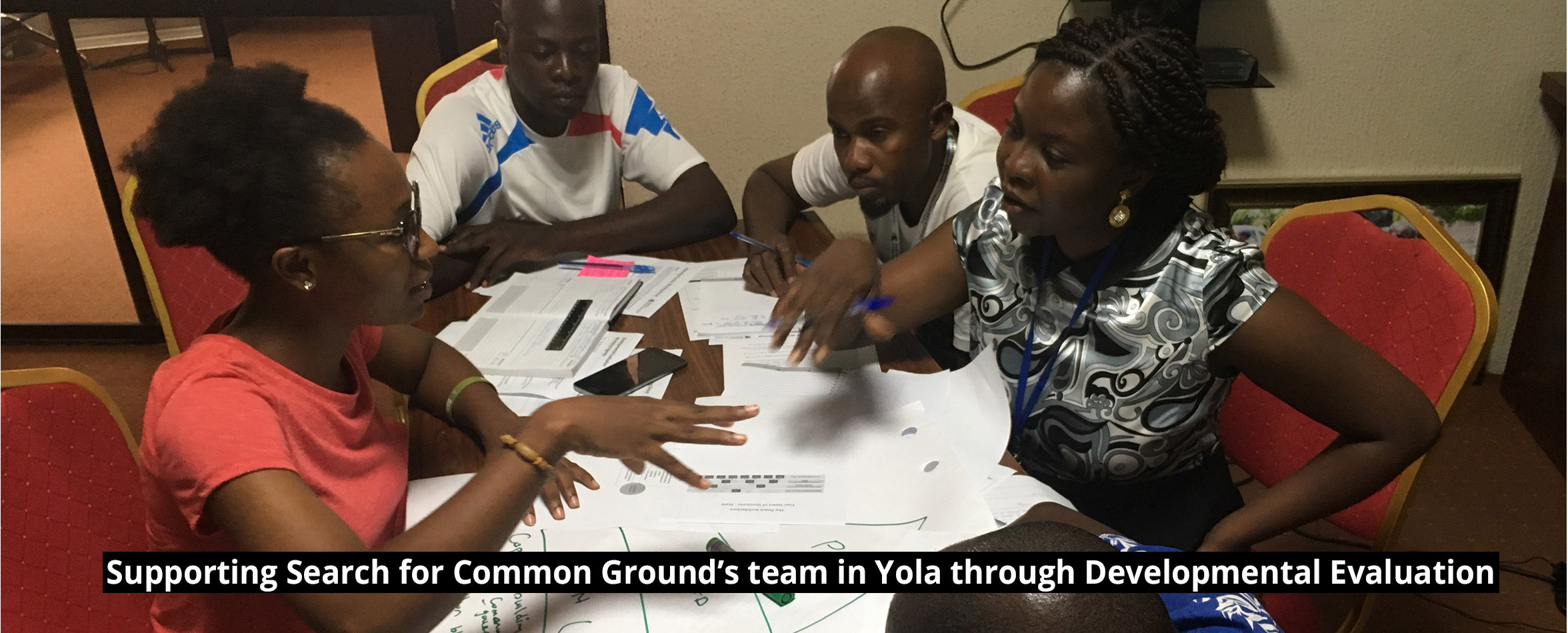 slide-5 Supporting Search for Common Ground's team in Yola through Developmental Evaluation